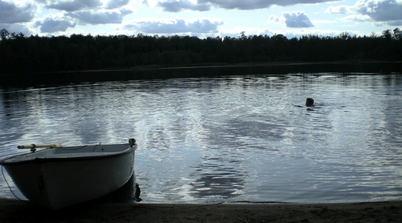 Zweden 2009 - Zwemmen