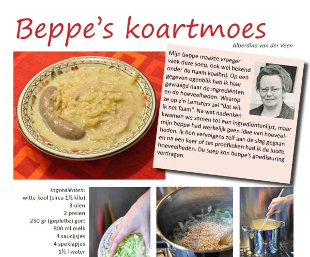 Recept Beppe's koartmoes