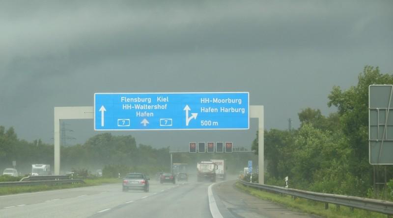 Denemarken 2015 - Onderweg door Duitsland