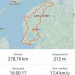Elfstedentocht op de fiets - Route en cijfers