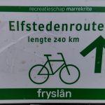 Elfstedentocht op de fiets